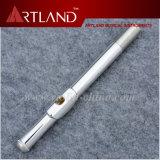 16 agujeros cerrados plateado plata importada Profesional cuproníquel flauta (AFL5509)
