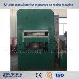 Machine en caoutchouc de presse de Vulcanzing de couvre-tapis avec le certificat de la CE