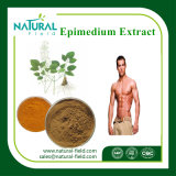 Extrato natural do Epimedium, extrato da planta, Icariin 98%