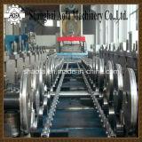 Rodillo de acero de la bandeja de cable del color que forma la máquina