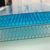 Le polycarbonate de matériaux de revêtements de serre chaude couvre des panneaux de nid d'abeilles de PC