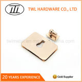 Blocage net de spire de blocage de torsion en métal de sacs à main de rectangle