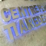 사업과 광고 표시를 위한 스테인리스 금속 LED 편지