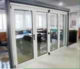 Portello scorrevole di alluminio di vetro standard australiano