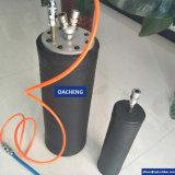 ガス管の溶接のためのゴム製管のプラグ