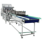Flacon en verre plastique automatique film thermorétractable Machine d'emballage