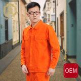 Форма OEM работая для Workwear инженера & людей, померанцового Mens Workwear