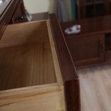 Antiker nach Maß fester Eichen-Holz-Schuh-Schrank (GSP16-001)