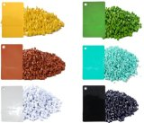 絵画、PPの注入口のマスタ・バッチ、PE/PP/PS/ABS/PVCのための熱く、純粋なABS PVC白いMasterbatch