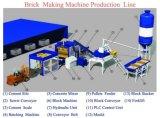 Qt4-15e de type automatique machine à fabriquer des briques de ligne de production