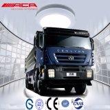 Saic Iveco Hongyan 380HP Genlyon 8X4 덤프 트럭 팁 주는 사람