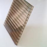 4X8 effacent les panneaux en plastique de feuille de polycarbonate pour les panneaux sains d'épreuve