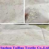 Seda Chiffon bordada el 100% para señora Garment Fabric
