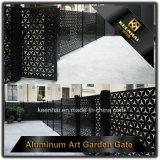 장식적인 알루미늄 담 문