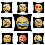 Het grappige Hoofdkussen van het Lovertje van Emoji van het Hoofdkussen van het Lovertje