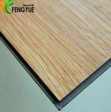 Plancher en bois de vinyle de PVC des prix du couplage d'intérieur populaire d'utilisation le meilleur marché