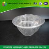 Ciotola trasparente di plastica