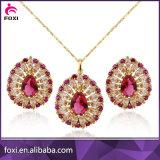 Set de joyería de oro de lujo de diseño 18k de calidad superior
