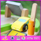 2016 het Nieuwe Stuk speelgoed W04b037 van het Parkeerterrein van het Beeldverhaal van de Kinderen van het Ontwerp Grappige Houten