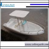 2019 Petit bateau de pêche en fibre de verre Panga Bateau pour la vente