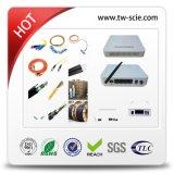 Fechamento de emenda da fibra óptica 48 horizontal