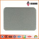 Panneau en aluminium de décoration d'épaisseur du polyester 3mm d'argent de présentoir