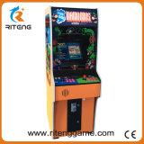 Macchina dritta del gioco della galleria di junior di Kong dell'asino dello spingitoio della moneta