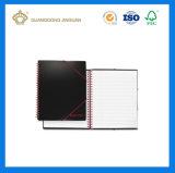 Cuaderno espiral de la impresión del nombre de Logo or Company (fábrica profesional de la impresión del cuaderno)