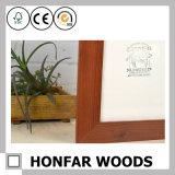 Frame de retrato de madeira personalizado da decoração da parede para a pensão do hotel