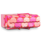 Spitzenverkaufs-Druck farbiger gewölbter Verpackungs-Kasten für Produkt-Paket-Feld