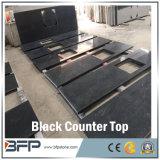 Конкурсный естественный черный сляб гранита для Countertop и плитки