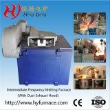 Алюминиевые латунные стальные медных плавильная печь индукционные печи в литейном заводе (GW-5T)
