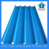 물결 모양 강철 금속 루핑 클래딩 장