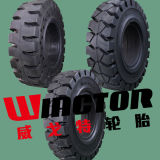 28X9-15 China Solid Forklift Truck Tires, 3t Forklift Tires 8.15-15