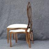 현대 새로운 디자인 로즈 금 스테인리스 결혼식과 사건 의자 Yc-As56