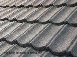 Hoja revestida de piedra de la azotea del metal de los azulejos de material para techos/de los materiales de construcción de África