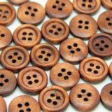 4 отверстия с помощью кнопок круглой древесины