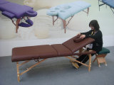 Nuova Tabella di massaggio del legname con lo schienale registrabile (MT-009-2)