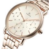 方法クロノグラフの現代腕時計のカスタムブランドの腕時計のステンレス鋼の人の腕時計72690