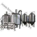 Acciaio inossidabile luminoso del serbatoio 100L 200L 500L del fermentatore della birra di alta qualità per fermentare
