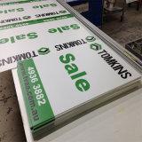 Signes de publicité respectueux de l'environnement estampés personnalisés de vente chauds de panneau de Corflute