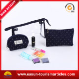 Place le sac cosmétique de lavage de course de sac, sac cosmétique de renivellement, sac d'article de toilette de ligne aérienne