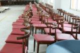Presidenza di sedili ricoperta cuoio di legno del gomito CH20 dell'unità di elaborazione