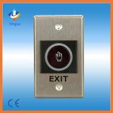 Pas de bouton de sortie tactile pour l'accès à la porte