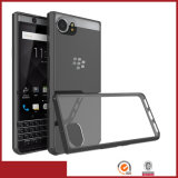 Acrylic 2in1 Hybrid Combo caso do telefone móvel para Blackberry Keyone