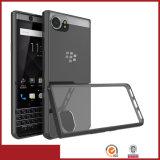 Cassa combinata ibrida acrilica del telefono mobile 2in1 per la mora Keyone