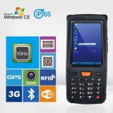 Terminal móvil del código de barras IP65 de la ventana Handheld rugosa PDA del explorador