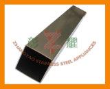 Inferriata con 304, tubo del quadrato dell'acciaio inossidabile 316