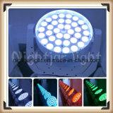 Nj-L36A 36*10W RGBW 급상승 LED 세척 이동하는 맨 위 빛