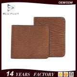 Monedero de cuero puro de la carpeta del clip del dinero del último producto
